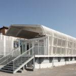 Fermata del Marconi Express alla stazione centrale di Bologna